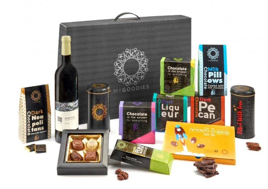 מארז שוקולד לחגים | מתנות ללקוחות עסקיים |