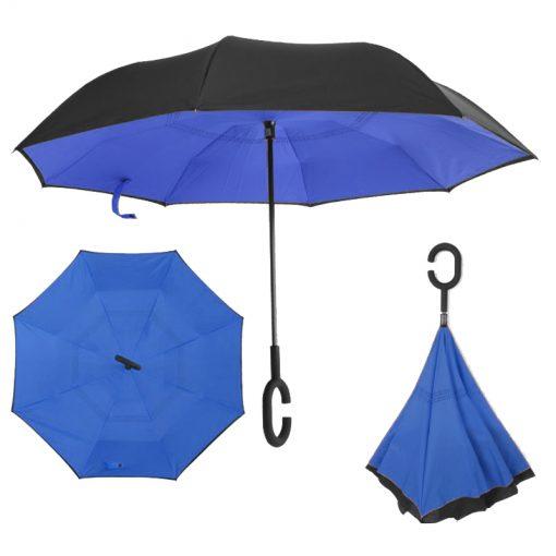 מטריה הפוכה | מטריות | מטריות ממותגות | הדפסה על מטריות | מטריות לפרסום