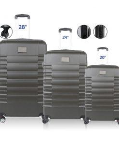 סט מזוודות קשיחות | מזוודות ממותגות
